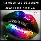 """Zips and Lips Flyer"" by Michelle Lee Willsmore"