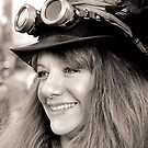 Steam Punk Girl With Smile by SuddenJim