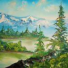 Morning in the mountains by Alena  Samsonov