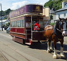Only Double Decker Horse Tram  by youmeus