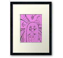 cosmic radar Framed Print
