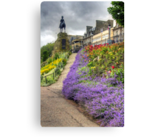 Lavender in the Park Canvas Print