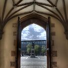 The Entrance of Queen's University - Belfast by Victoria limerick
