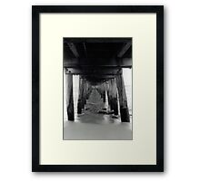 Point Lonsdale pier - 35mm Framed Print