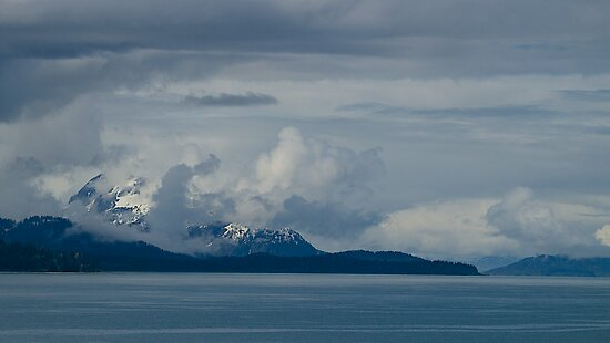 Alaskan Coastal Skyscape, 2012.  by johnrf