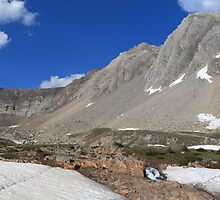 Above Highwood Pass (panorama) by zumi