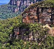 Classic Blue Mountains Landscape by jayneeldred