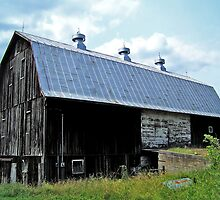 Barn In The Country by James Brotherton