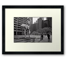 Windy City - Chicago Framed Print