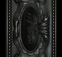 Gothic Stone Work iPhone Case by Moonlake