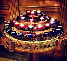 Offering Candle Round - St. Thomas' Church - 5th Avenue by SylviaS