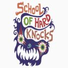 School Of Hard Knocks violet by Andi Bird