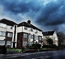 Dark clouds in Harrow by AltheeaAdebisy