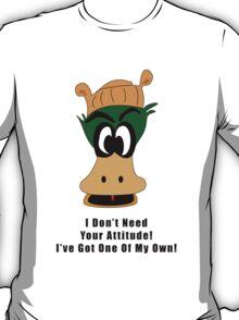Crazy Duck Attitude T-Shirt
