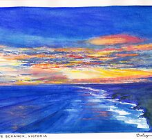 Cape Schanck Sunset by Dai Wynn