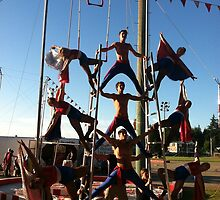 Wenatchee Youth Circus, Edmonds, Washington by Julie Van Tosh Photography