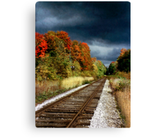 Ontario Autumn Canvas Print