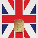 British Flag Smart Card iPod /  iPhone 5 Case / iPhone 4 Case  by CroDesign