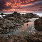 """Inferno"" ∞ Hastings Point, NSW - Australia by Jason Asher"