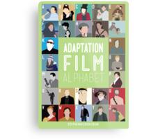 Adaptation Film Alphabet Metal Print