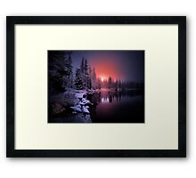 To Touch The Heart Framed Print