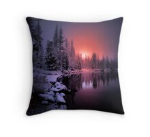 To Touch The Heart Throw Pillow