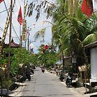 Main Street on Lembongan Island, Bali by Mish Chappell