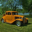 1931 Ford 5 Window Coupe Hot Rod by TeeMack