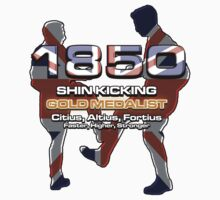 1850 - Shin kicking Gold Medalist by electricfly