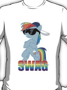 Rainbow Dash has ALL the SWAG T-Shirt