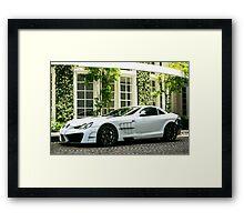 Mansory SLR  Framed Print