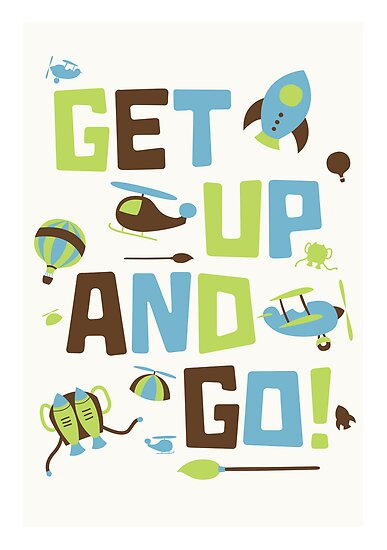 Get Up And Go by copywriter