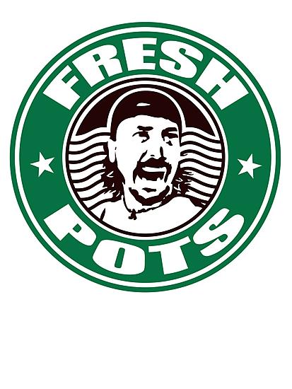 FRESH POTS COFFEE T-SHIRT  by FRESHPOTS