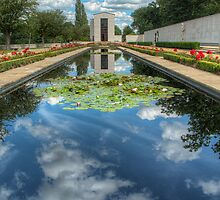 Cambridge American Cemetery  by cameraimagery