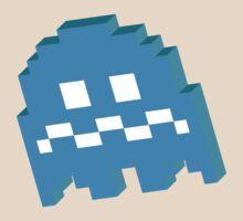 Blue Ghost - Pacman T-Shirt