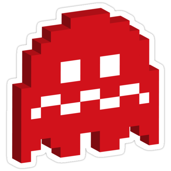 Red Ghost - Pacman by techwiz