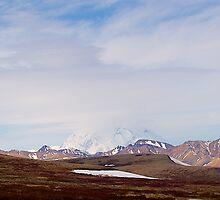 Mt McKinley, Denali National Park, Alaska, 2012. by johnrf
