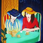 Coffee Cup Girls by Annette Radermacher