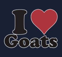 I love goats by erndub