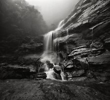 Bridal Veil Falls III by Peter Hill