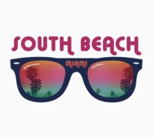 South Beach Miami by WAMTEES