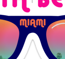 South Beach Miami Sticker