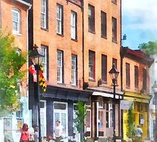 Fells Point Street by Susan Savad