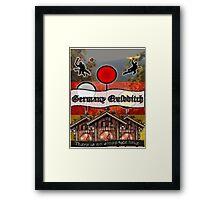 Germany Quidditch Framed Print