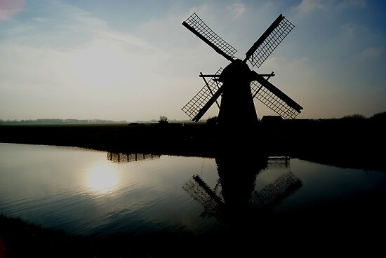 Dutch Mill by Xoanxo