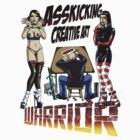 Asskicking creative art warrior by filthyweedog