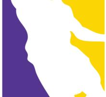 The New NBA Logo Sticker