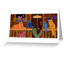 Our Place ~ welcome home! Greeting Card