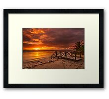 Stairway to the Sun Framed Print