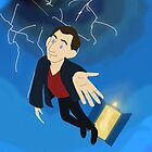 9th Doctor in the Vortex by Kileigh Gallagher
